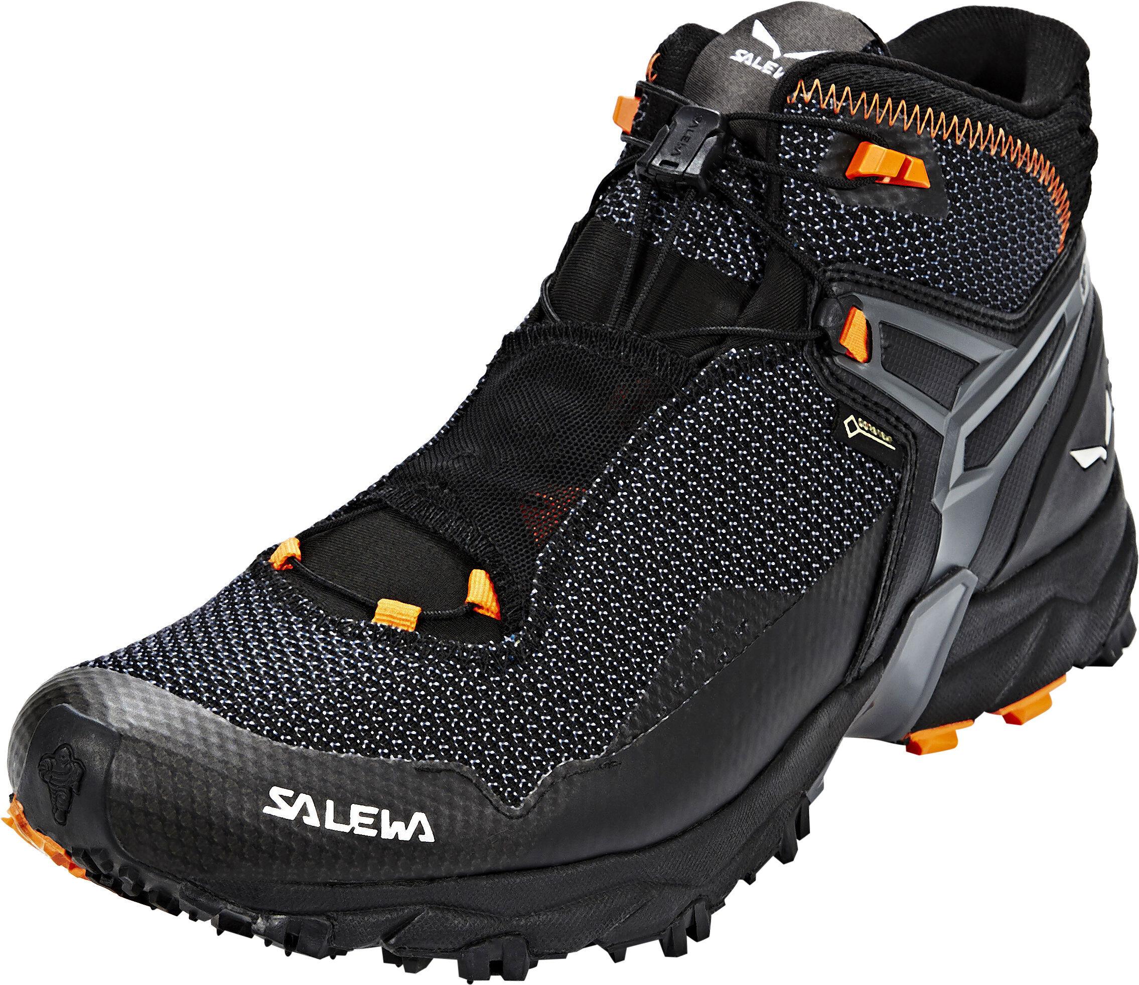 Salewa Ultra Flex Mid GTX Scarpe Uomo nero su Addnature 96298e808a4